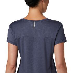 Columbia Bryce Camiseta Manga Corta Mujer, nocturnal heather